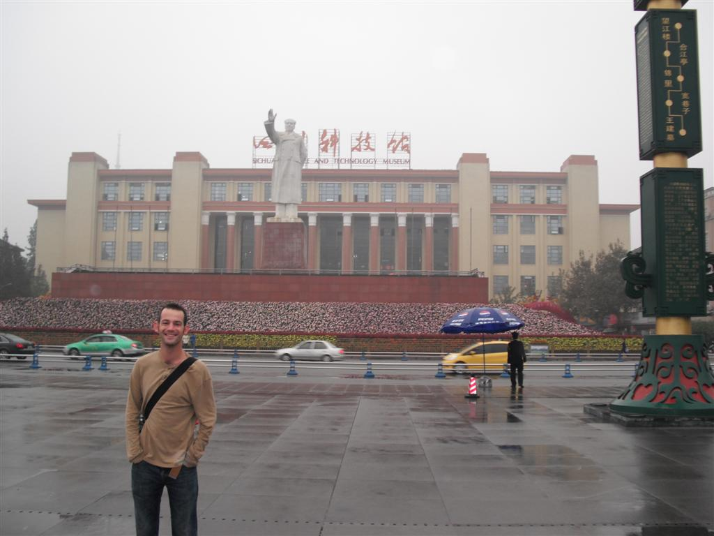 Chengdu with Mao